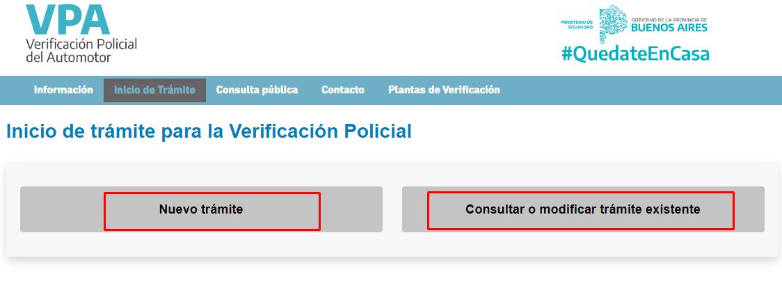 Imagen: Formulario RPA